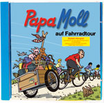 Papa Moll auf Fahrradtour