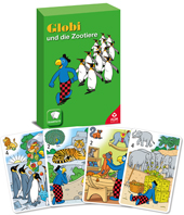 Quartett Globi und die Zootiere