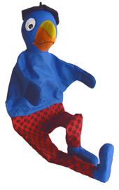Handspielpuppe Globi mit Schuhen