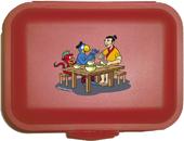 Globi im alten China Lunchbox rot