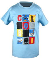 Globi T-Shirt hellblau 110/116