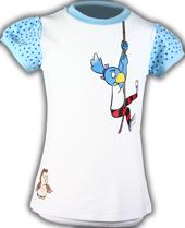 Globine T-Shirt gepunktet blau Globine am Seil 122/128