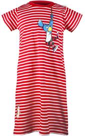 Globine Longshirt gestreift rot Globine am Seil 98/104