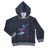 Globi Sweat Shirt Rodler blau 122/128