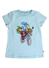 Globine T-Shirt hellblau Velo 110/116