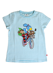 Globine T-Shirt hellblau Velo 134/140
