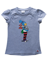 Globine T-Shirt hellgrau Koala 122/128