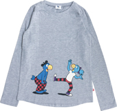Globine T-Shirt langarm grau Globine und Globi 98/104