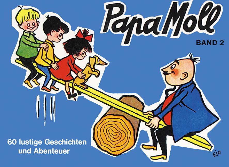 Papa Moll Band 2, blau