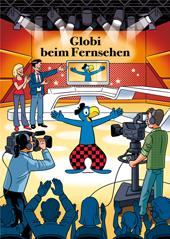 Globi beim Fernsehen