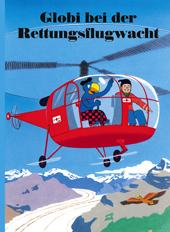 Globi bei der Rettungsflugwacht