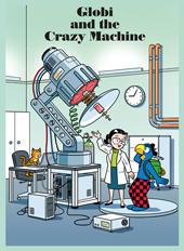 Globi and the Crazy Machine, Umschlag gross anzeigen