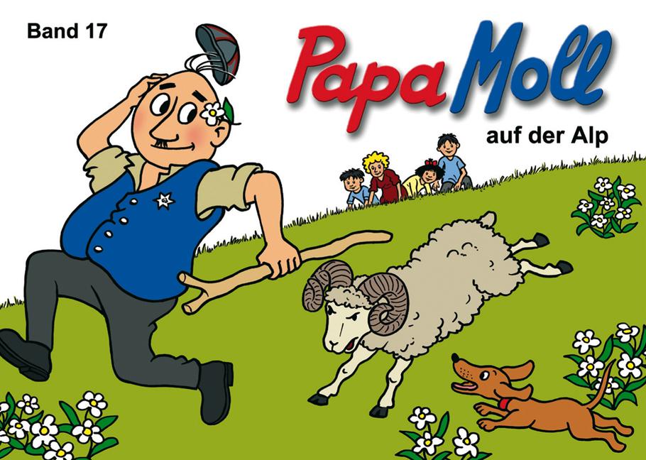 Papa Moll auf der Alp